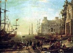 Port de mer - (Claude Lorrain)