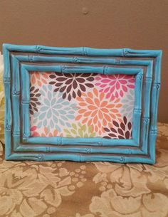 Check out this item in my Etsy shop https://www.etsy.com/listing/490268048/rustic-picture-frame-aqua-picture-frame