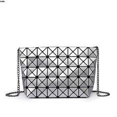 17.87$  Buy now - http://ali29o.shopchina.info/go.php?t=32784995416 - New 2016 Women Fashion Noctilucent Bao Bao Bag Geometry Package Folding Bags Crossbody Bag Women Famous Brand Messenger Bags 019  #buyonlinewebsite