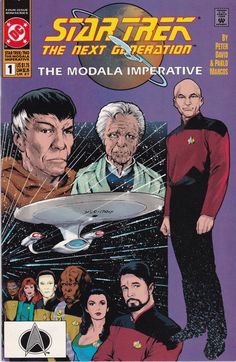 Star Trek The Next Generation The Modala Imperative #1 1991 DC Comics