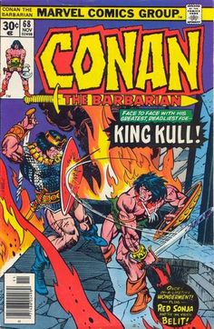 Conan the Barbarian #68. Conan vs Kull.
