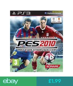 Pro Evolution Soccer 2010 (Sony PlayStation for sale online Xbox 360, Playstation 2, Pro Evolution Soccer, Mario Kart, Uefa Champions League, Fifa 13, Dvd Box, Soccer Pro, Best Android Games