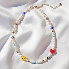 Handmade Wire Jewelry, Funky Jewelry, Trendy Jewelry, Cute Jewelry, Handmade Necklaces, Craft Jewelry, Jewelry Accessories, Diy Jewelry Necklace, Bead Jewellery