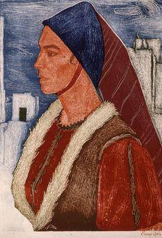 Greek Beauty, Gustav Klimt, Printmaking, Greece, Costumes, Traditional, Painters, Gallery, Israel