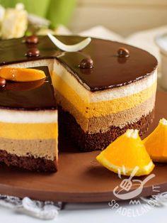 Orange Recipes, Sweet Recipes, Cake Recipes, Dessert Recipes, Cheesecake, Torte Cake, New Cake, Mousse Cake, Creative Cakes