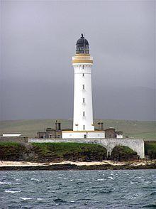 Hoy High Lighthouse · Isle of Graesay (Hoy Sound) · Scotland  built 1851;