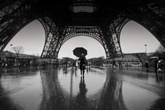 Paris Rain; photograph by Andrew Badenhorst