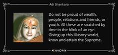 TOP 22 QUOTES BY ADI SHANKARA | A-Z Quotes