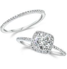 1.25CT GIA Certified Diamond Engagement Ring Set by Pompeii3, $2,999.99