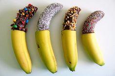 Bunter Bananen-Snack Rezept