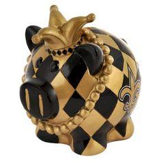 Optimum Fulfillment NFL New Orleans Saints Piggy Bank - Large