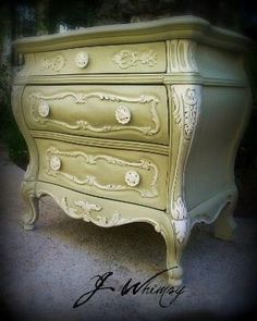 vintage inspired night stand