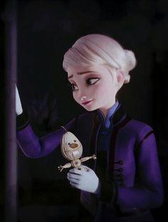 Teenage Elsa