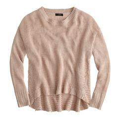 textured beach sweater / j.crew