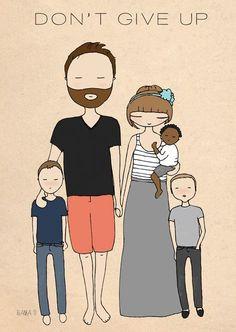 Imagen, ilustración Familia 1
