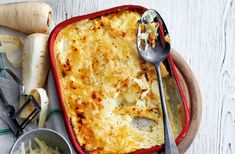 This classic dish is made extra tasty with the addition of parsnip to the creamy, cheesy potato mix. For more great side dishes go to Tesco Real Food.