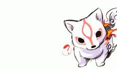 Okami Playstation 2 chibi video games wolves