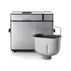 Cuisinart CBK-100SSFR Cuisinart CBK-100SSFR 2-Pound Programmable Breadmaker (Certified Refurbished), Stainless Steel, Silver * This is an Amazon Affiliate link. Click image for more details.