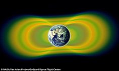 An artist's impression of the Van Allen belts: The Van Allen radiation belts are…