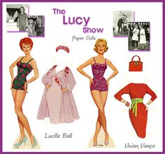 The Lucy Show Paper Doll