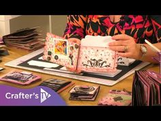 (191) Precious Memories   How to use the Tabbed Page and Pocket Die set - YouTube Memory Album, Memory Books, Crafters Companion Cards, Interactive Cards, Album Book, Purse Styles, Making Memories, Precious Moments, Mini Albums