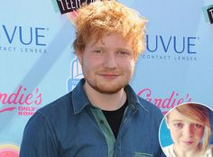 Ed Sheeran le cantó a una niña antes de morir