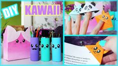 DIY ОРГАНИЗАЦИЯ рабочего стола Kawaii ● КАВАЙНЫЕ закладки ● Быстро и легко