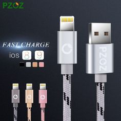 Lighting Cable Fast Charger Adapter USB Cable For iphone 6 s plus i6 i5 iphone 5 5s ipad air