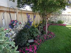DSC00558 | As you can tell we have a small back yard but we … | Flickr Landscaping Design, Small Backyard Landscaping, Yard Design, Backyard Patio, Front Yard Landscaping, Backyard Trees, Garden Yard Ideas, Back Yard Landscape Ideas, Fenced In Backyard Ideas