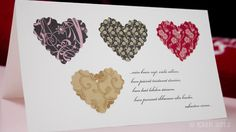 I love this card - simple and stylish. I like the poem (in finnish) as well.