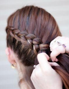 more katiness inspired hair!