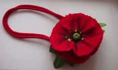 Felted handbag red green on Felted Bag Felted от YuliasFeltworld