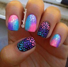 NAIL IDEAS: Black, Nude, and Polka Dots! #nailart #nails