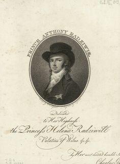 Antoni Radziwiłł by Carl Gröll in London after Wincenty de Lesseur, 1795 (PD-art/old), Biblioteka Narodowa