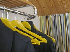 cloth rack and hangers