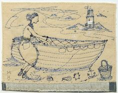 Betty reaches the shore safely: Michelle Holmes