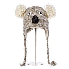 Kirby the Koala Animal Hat.  Knitwits, Knit Wits, Animal Hats