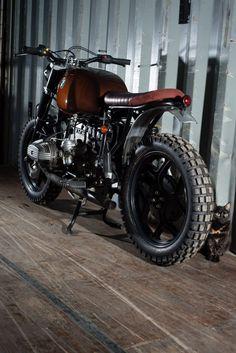 R80 scrambler by Barn Built Bikes