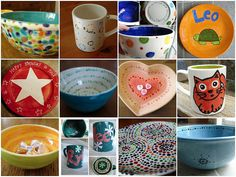 painted pottery - Google Search