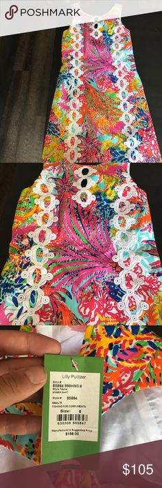 BNWT Lilly Pulitzer Dress Brand new. Never worn or washed. PRICE IS FIRM Lilly Pulitzer Dresses Strapless