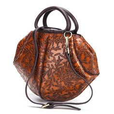 d956c01e7baf Brenice Vintage Genuine Leather Handbag Embossed Brush Color Women Shoulder  Messenger Bag is designer