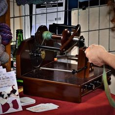 Action shot of me spinning at the RAW artist show Stellar in early November! Espresso Machine, Spinning, Coffee Maker, November, Kitchen Appliances, Action, Wool, Espresso Coffee Machine, Hand Spinning