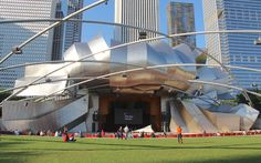 Pritzker Pavilion I | Pavilion for music series and annual p… | Flickr - Photo Sharing!