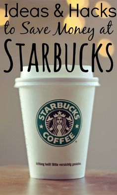 Buying coffee every week can certainly put a dent in your budget. If you still want a treat, take a look at these coffee hacks to save money at Starbucks.