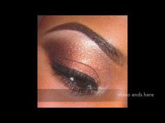 How to makeup tutorial for black women beginners wit easy steps - YouTube
