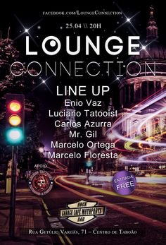 Lounge Connection - flyer digital