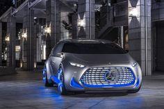 Cars - Mercedes-Benz Vision Tokyo : concept-car autonome, luminescent... - http://lesvoitures.fr/mercedes-benz-vision-tokyo-concept-car-autonome-luminescent/