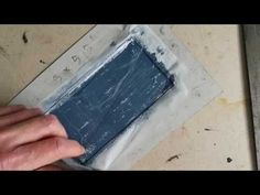 Low budget monoprinting ! quick demo - YouTube