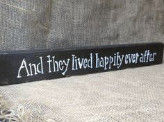 Reclaimed Wood And They Lived Happily Ever After by AmysReclaimed on #Etsy