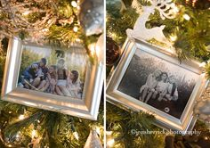 My family on our Christmas tree